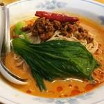 中国ラーメン 揚州商人 - 冷しタンタン麺 920円、麺の大盛り無料になります