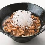 東京 肉芝 - 牛すきうどん