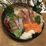 活魚 漁ま - 名物!お刺身盛り2人前+烏賊¥1,980