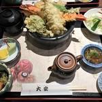 大安 - 天丼セット