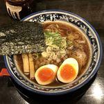 Ramenshokudourairakukenkyoudaiten - 【限定】醤油黒胡椒