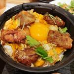 秋田比内地鶏生産責任者の店 本家あべや - 極上親子丼