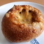 さく・ら・ぱん - 全粒粉の手作りカレーとチーズぱん(180円)