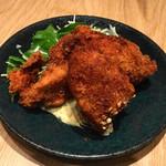みのる食堂 - 牡蠣フライ(529円)