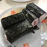 九州すし市場 - 料理写真:鉄火巻き