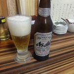 めん処 倖佳 - ドリンク写真:瓶ビール