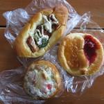 at home - 料理写真:ゲットしたパンたち