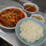 水新菜館 - イベリコ酢豚定食