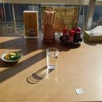 仙岩峠の茶屋 - 展望席テーブル