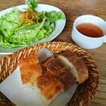 イン・ザ・グリーン - パン、サラダ、スープ