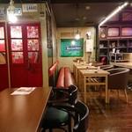 ランズカフェ - 店内改装されました