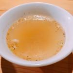 焼肉ホルモンブンゴ - 牛骨スープ