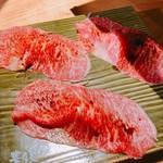 焼肉ホルモンブンゴ - 和牛肉寿司