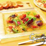 マジックレストラン&バーGIOIA 銀座 - 直送鮮魚のカルパッチョ
