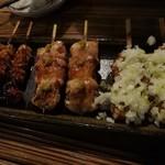 中野のけむり - 串焼き