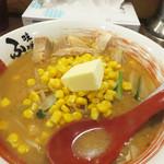 味噌蔵ふくべえ - 味噌コーンバターラーメン790円。 北海道っぽい(笑)!
