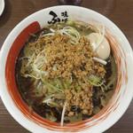 味噌蔵ふくべえ - 黒胡麻味噌担々麺840円。