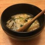 しらと菜園 - 昆布出汁の効いた雑炊
