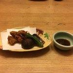 しらと菜園 - カキフライは高松市の牟礼産らしい