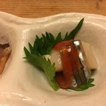 しらと菜園 - この梅肉ソースには芳醇なトメェトの風味が効いてて円やか