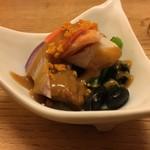 しらと菜園 - 少しづつあじわいながら食べるのに… やっぱ日本酒欲しいな(・ω・)