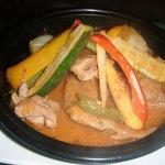 8455296 - 鶏肉と野菜のタジン蒸し