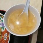 中華食堂 一番館 - 玉子スープ