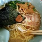ラーメン山岡家 - 朝ラーメン  味付け白髪ネギ+メンマ