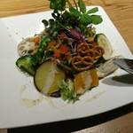 84556803 - 畑の採れたて野菜サラダ