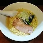 喜粋 - 塩ラーメン 750円