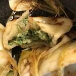香氣 四川麺条  - 水餃子のアップ