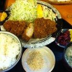 とんかつ館 - 料理写真:ロースカツ定食