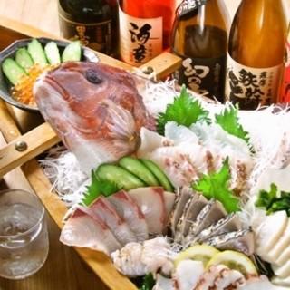 魚好きも納得!新鮮なお魚をご用意いたしております。
