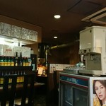 炭火焼肉ピカソ - 店内。