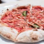 ピッツェリア イルベリエッロ ハヤマ - 料理写真:桜エビ(由比産)のピザ@1,600円