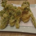 青藍 - 春野菜の天ぷら