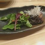 青藍 - マグロほほ肉ステーキ
