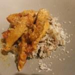 84565301 - 稲作エリアから茹でた米のトリッパのトマト煮込み添え