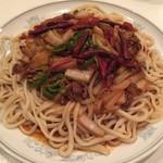 84566971 - ラグマン・羊肉野菜炒め