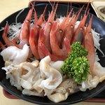 おろろん食堂 - えびつぶ丼 2000円