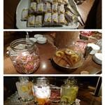 ゆづくしSalon 一の坊 - 料理写真:ラウンジの おやつ ドリンク 何時でも   飲み放題          食べ放題  (*^▽^)/★*☆♪