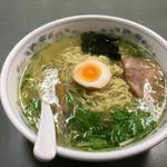 ヒマラヤラーメン - 料理写真:ゆずしおラーメン600円