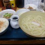 四ツ木製麺所 - ひっぱりうどん