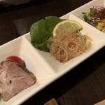 下町キッチン パラダイス - 前菜3種盛り