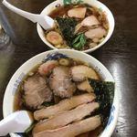 84570050 - チャーシューワンタン麺と、ラーメン