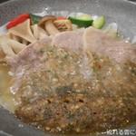 ホテル亀屋 - 牛のしそ胡桃味噌焼き
