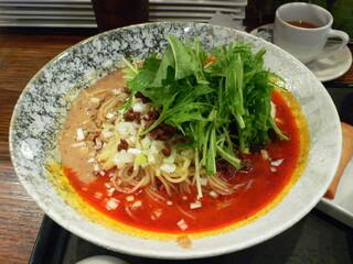 炎神 - 旬の冷し坦々麺