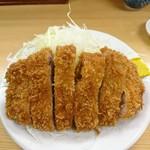 とんかつ 山家 - ロースかつ定食(大)1