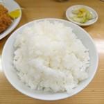 とんかつ 山家 - ロースかつ定食(大)2