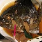 魚啓 - カンパチの煮付け
